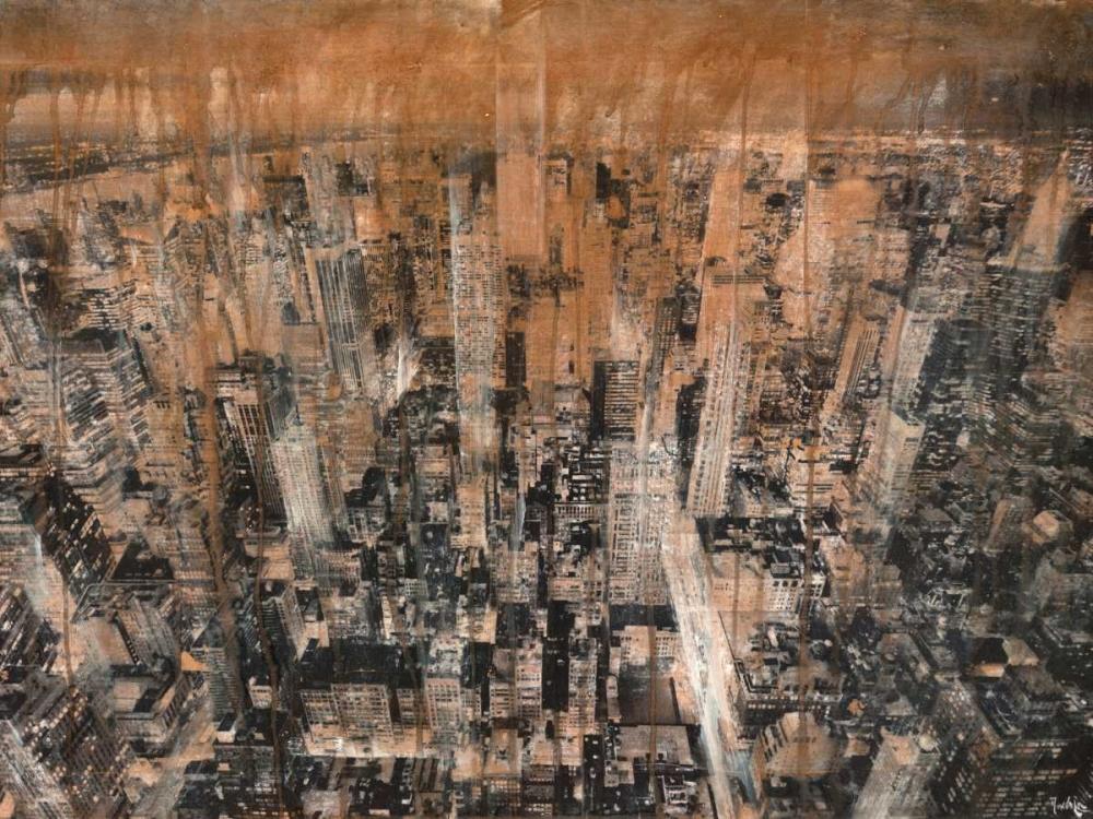 konfigurieren des Kunstdrucks in Wunschgröße NYC Aerial 4 von Moschetta, Dario