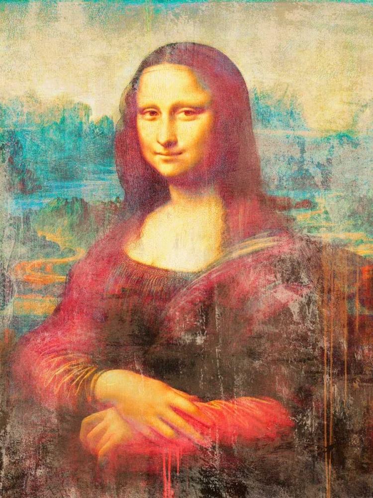 konfigurieren des Kunstdrucks in Wunschgröße Mona Lisa 2.0 von Chestier, Eric