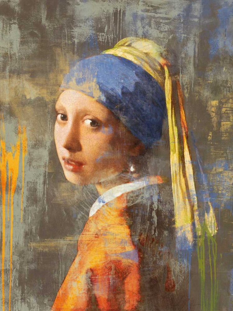 konfigurieren des Kunstdrucks in Wunschgröße Vermeers Girl 2.0 von Chestier, Eric