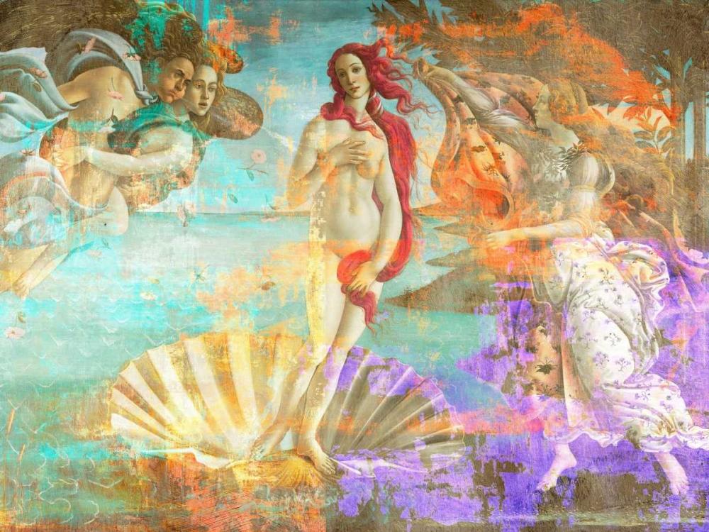 konfigurieren des Kunstdrucks in Wunschgröße Botticellis Venus 2.0 von Chestier, Eric