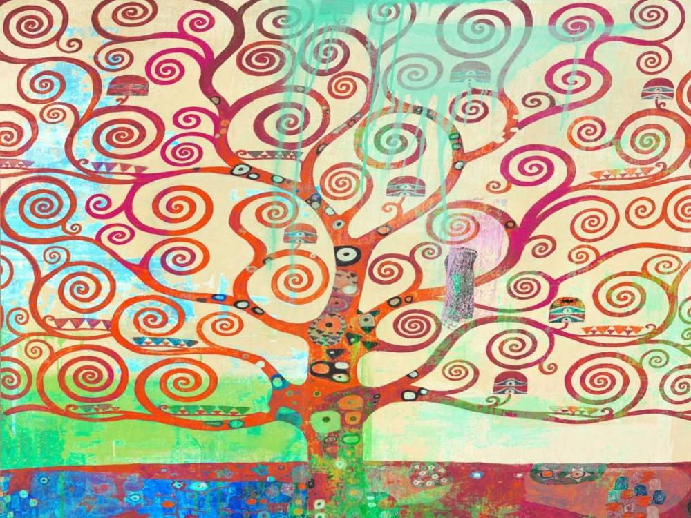 konfigurieren des Kunstdrucks in Wunschgröße Klimts Tree 2.0 von Chestier, Eric