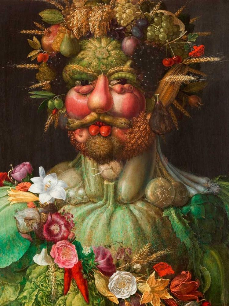 konfigurieren des Kunstdrucks in Wunschgröße Rudolf II of Habsburg as Vertumnus von Arcimboldo, Giuseppe