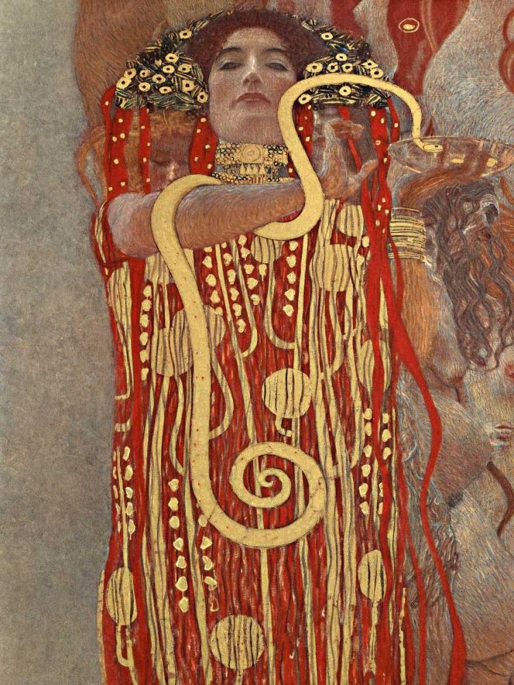 konfigurieren des Kunstdrucks in Wunschgröße Medicina von Klimt, Gustav
