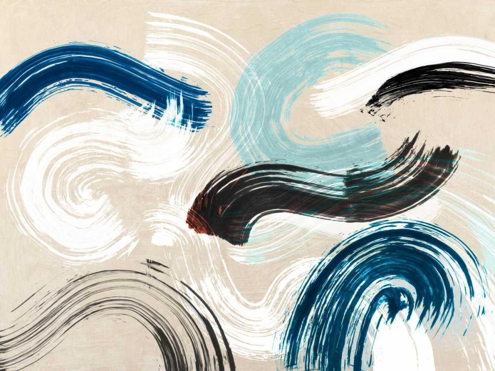 konfigurieren des Kunstdrucks in Wunschgröße Waves von Ikeda, Haru