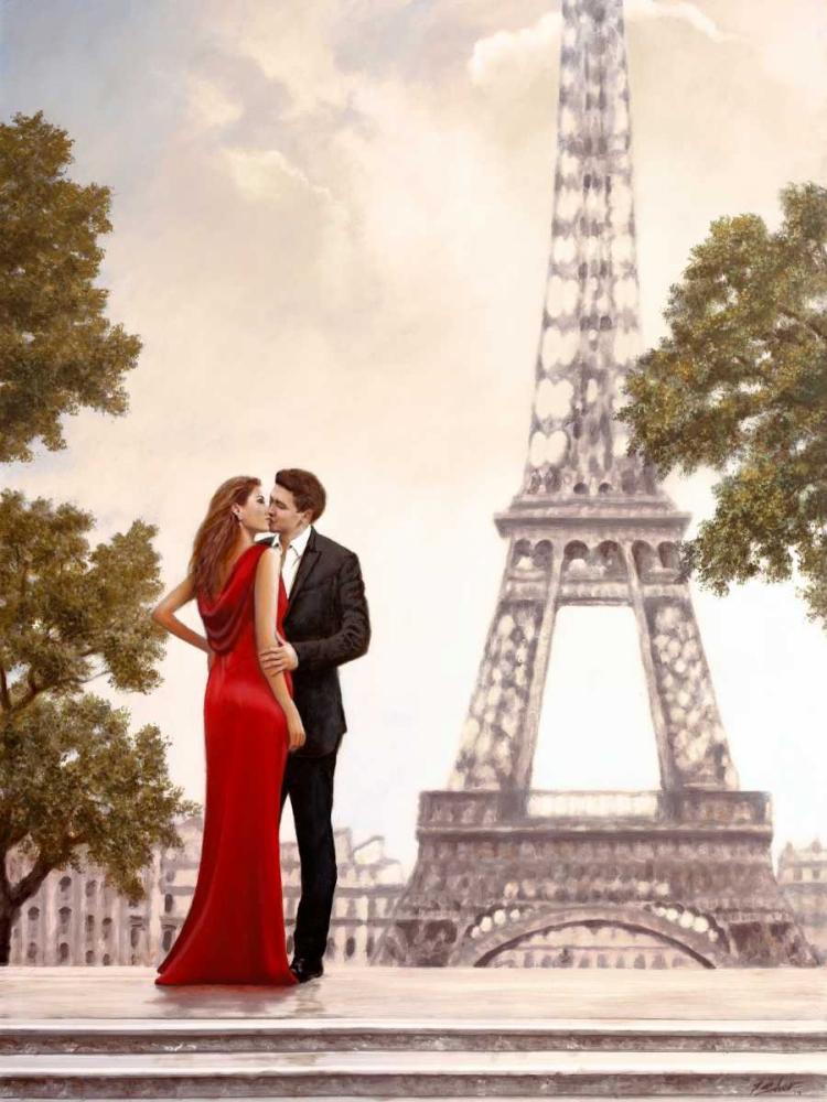 Romance in Paris I von Silver, John <br> max. 117 x 155cm <br> Preis: ab 10€