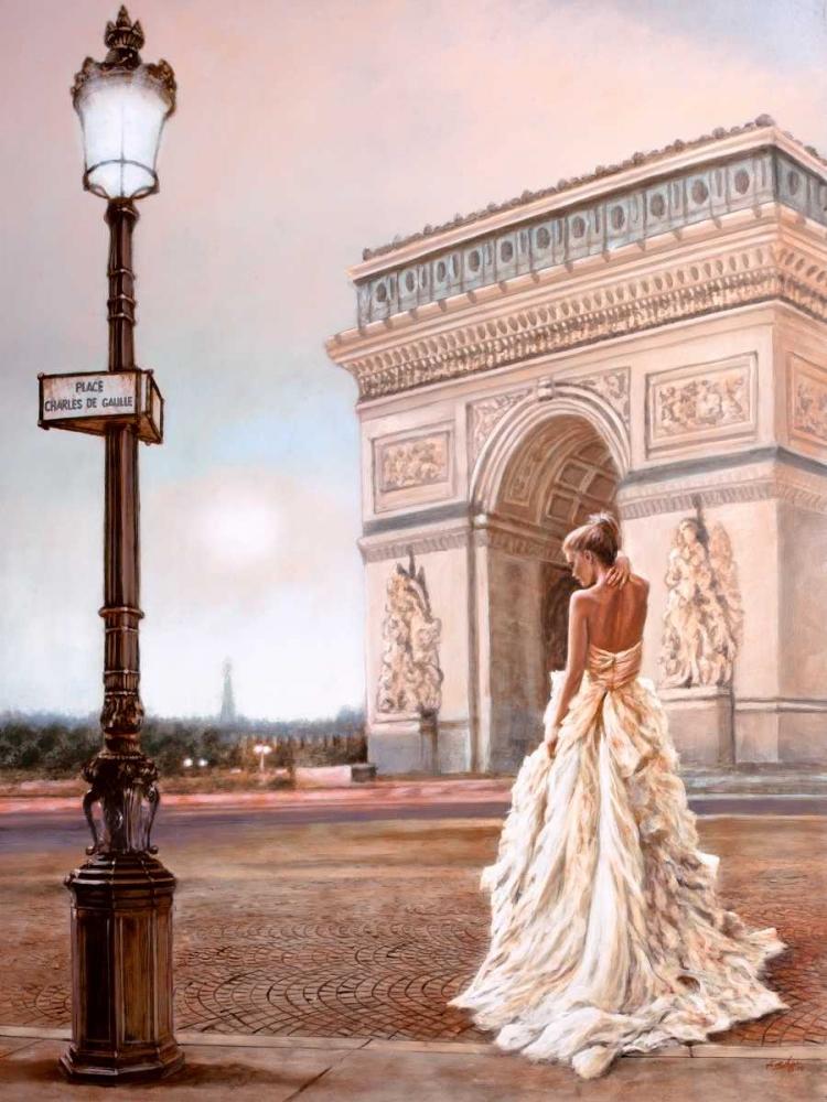 Romance in Paris II von Silver, John <br> max. 117 x 155cm <br> Preis: ab 10€