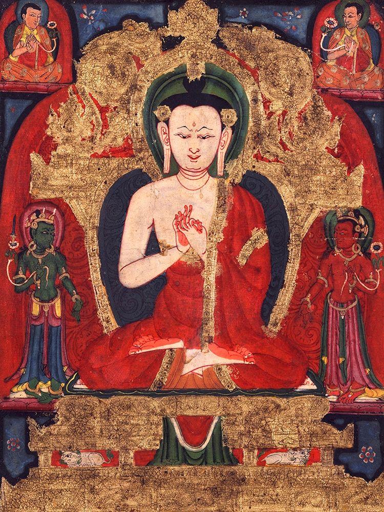 konfigurieren des Kunstdrucks in Wunschgröße Buddha Vairocana von Anonymous