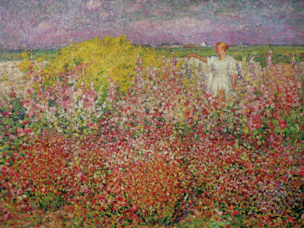 konfigurieren des Kunstdrucks in Wunschgröße Amongst the Flowers at Belle Isle von Einzelbilder