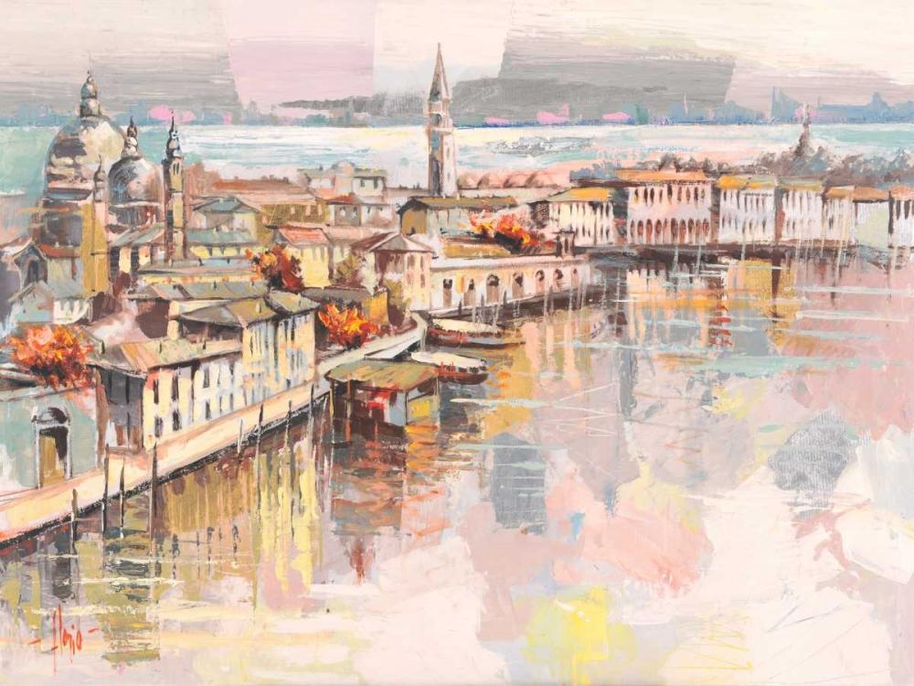 konfigurieren des Kunstdrucks in Wunschgröße Dolce Venezia von Florio, Luigi
