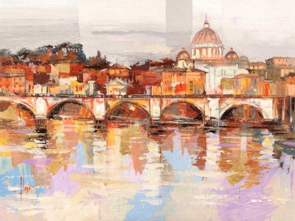 konfigurieren des Kunstdrucks in Wunschgröße Dolcemente Roma von Florio, Luigi