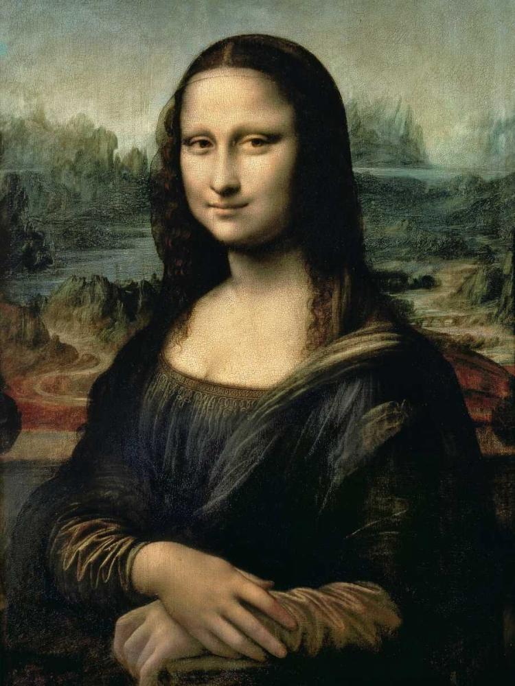 konfigurieren des Kunstdrucks in Wunschgröße Monna Lisa von Da Vinci, Leonardo
