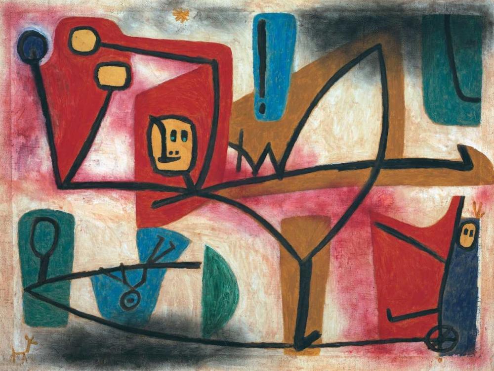 konfigurieren des Kunstdrucks in Wunschgröße Arrogance von Klee, Paul