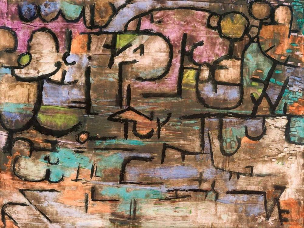 konfigurieren des Kunstdrucks in Wunschgröße After the Flood von Klee, Paul