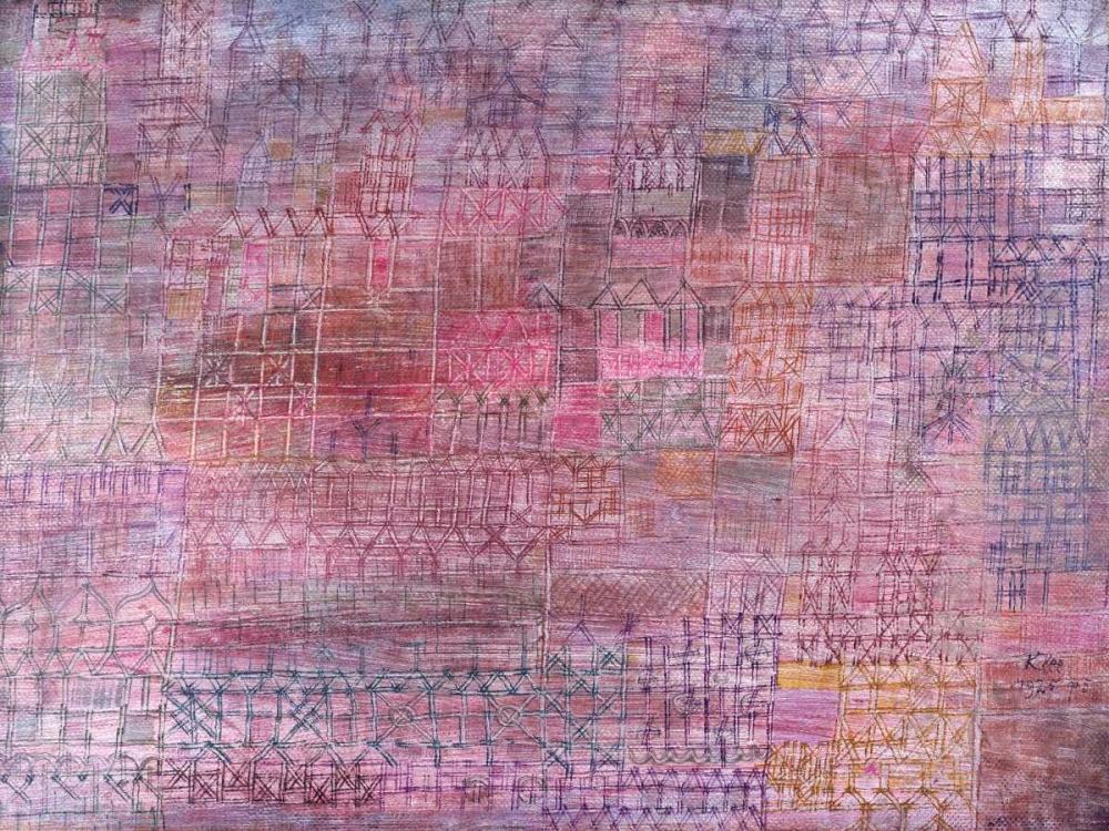 konfigurieren des Kunstdrucks in Wunschgröße Cathedrals von Klee, Paul