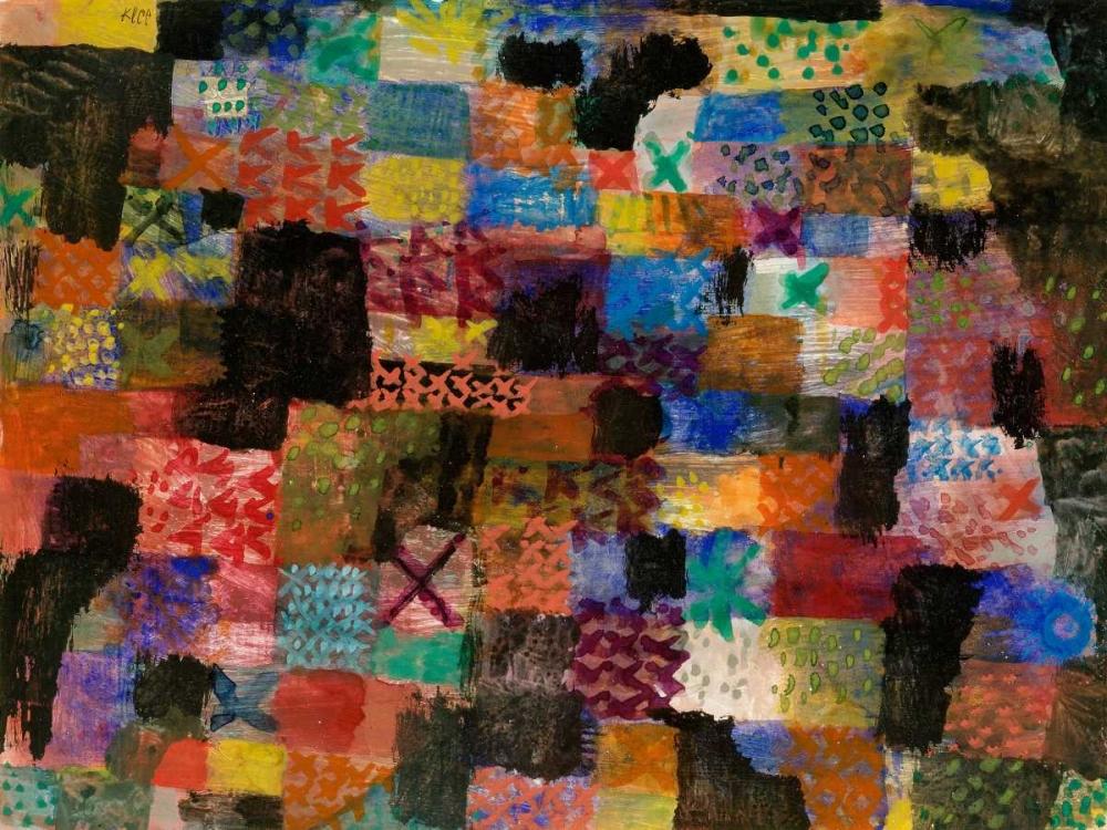 konfigurieren des Kunstdrucks in Wunschgröße Deep Pathos von Klee, Paul
