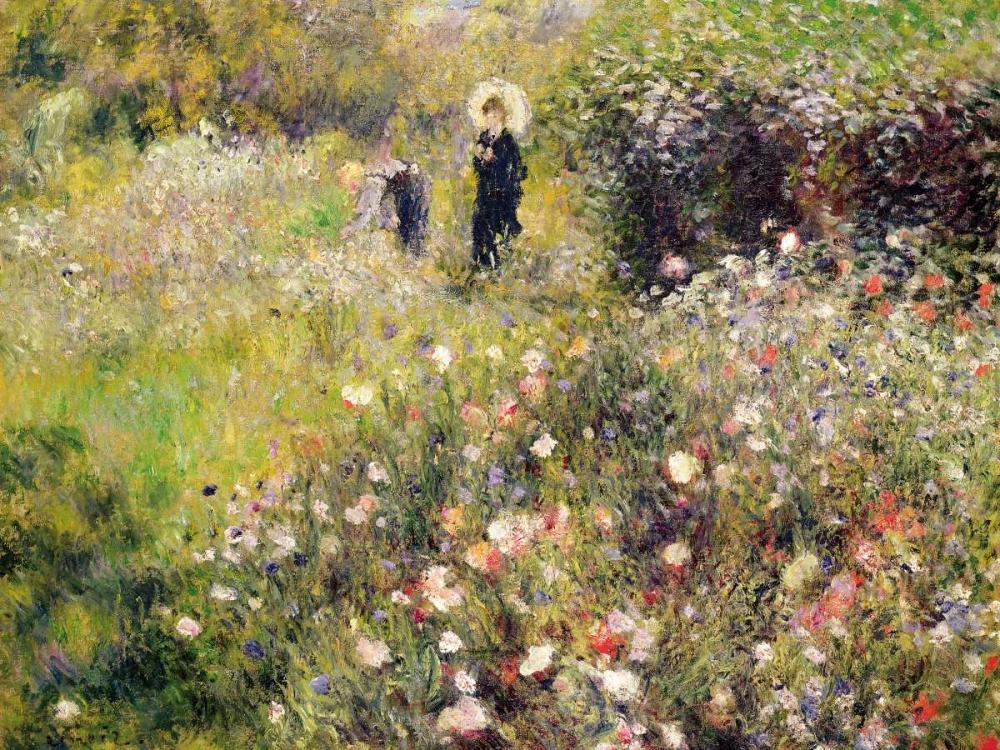 konfigurieren des Kunstdrucks in Wunschgröße Summer Landscape von Renoir, Pierre-Auguste