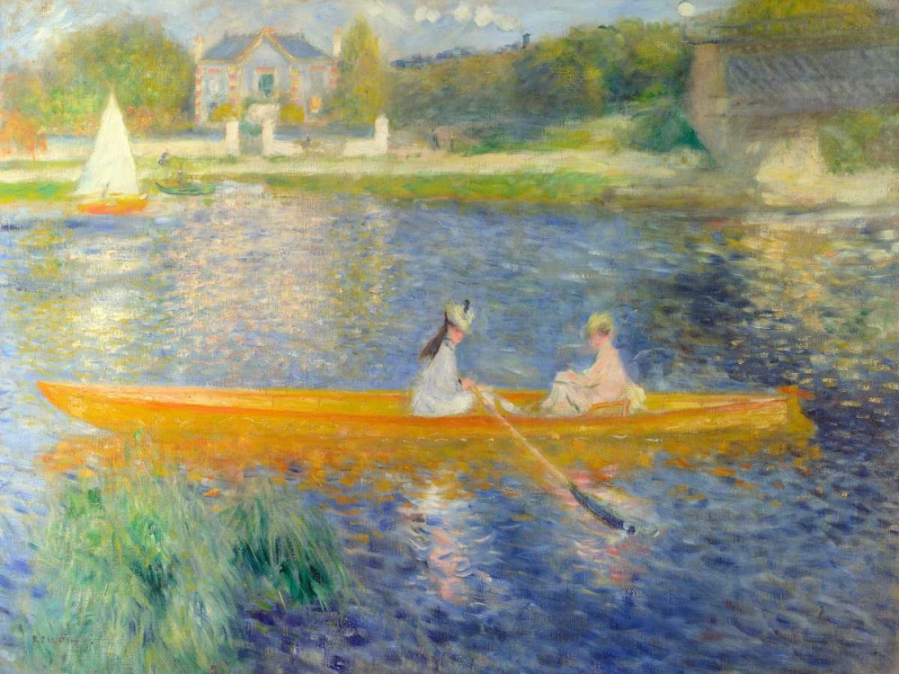 konfigurieren des Kunstdrucks in Wunschgröße La Yole von Renoir, Pierre-Auguste