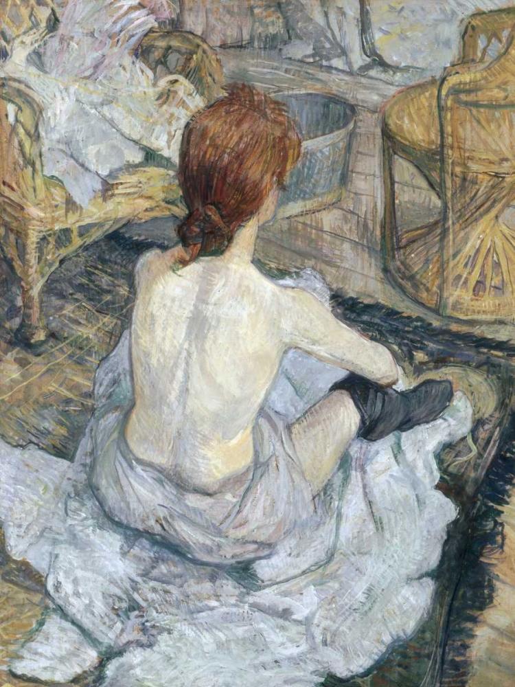 konfigurieren des Kunstdrucks in Wunschgröße Rousse von De Toulouse-Lautrec, Henri