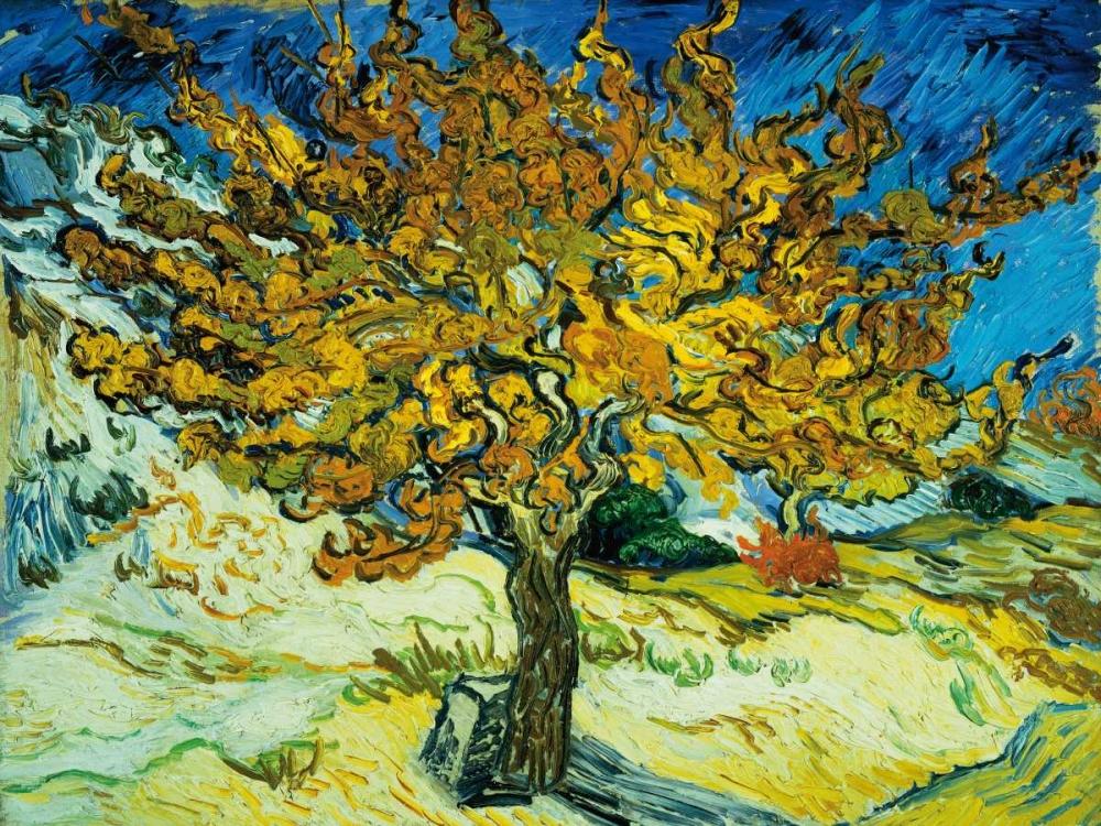 konfigurieren des Kunstdrucks in Wunschgröße Mulberry Tree von Van Gogh, Vincent