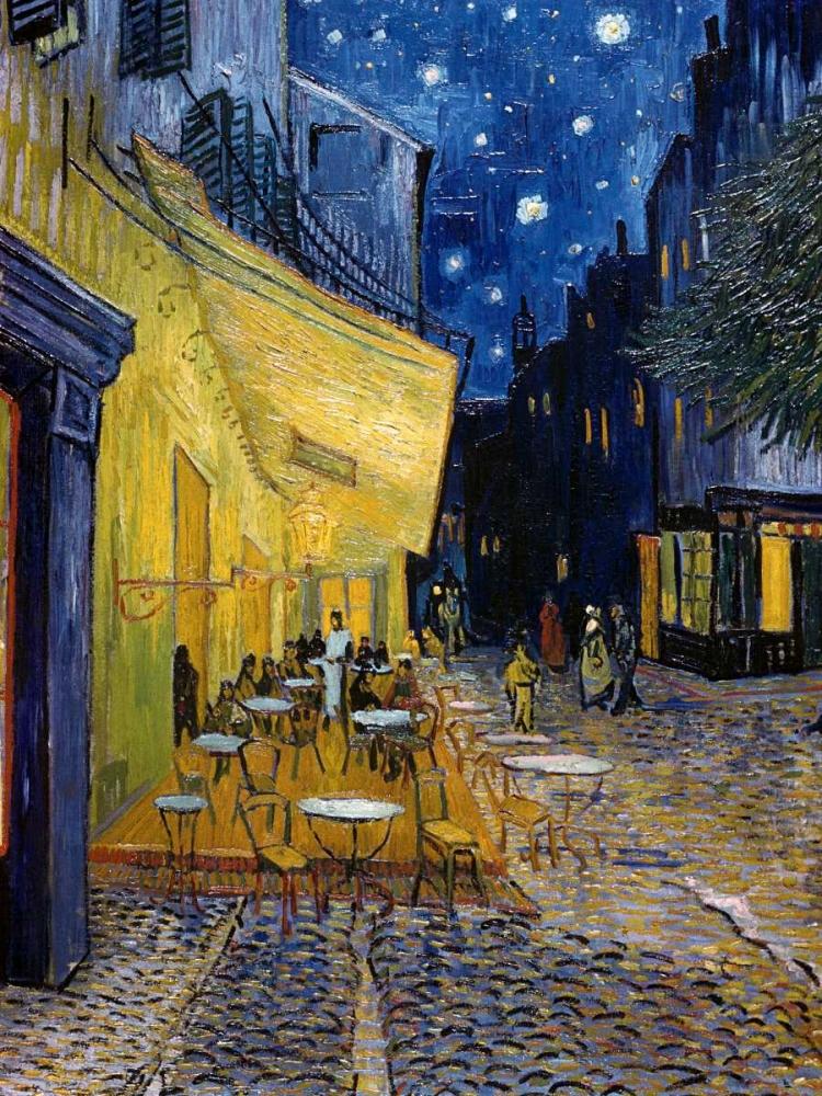 konfigurieren des Kunstdrucks in Wunschgröße Cafe Terrace at Night von Van Gogh, Vincent