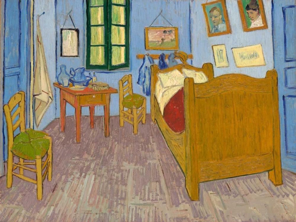 konfigurieren des Kunstdrucks in Wunschgröße Van Goghs Bedroom at Arles von Van Gogh, Vincent