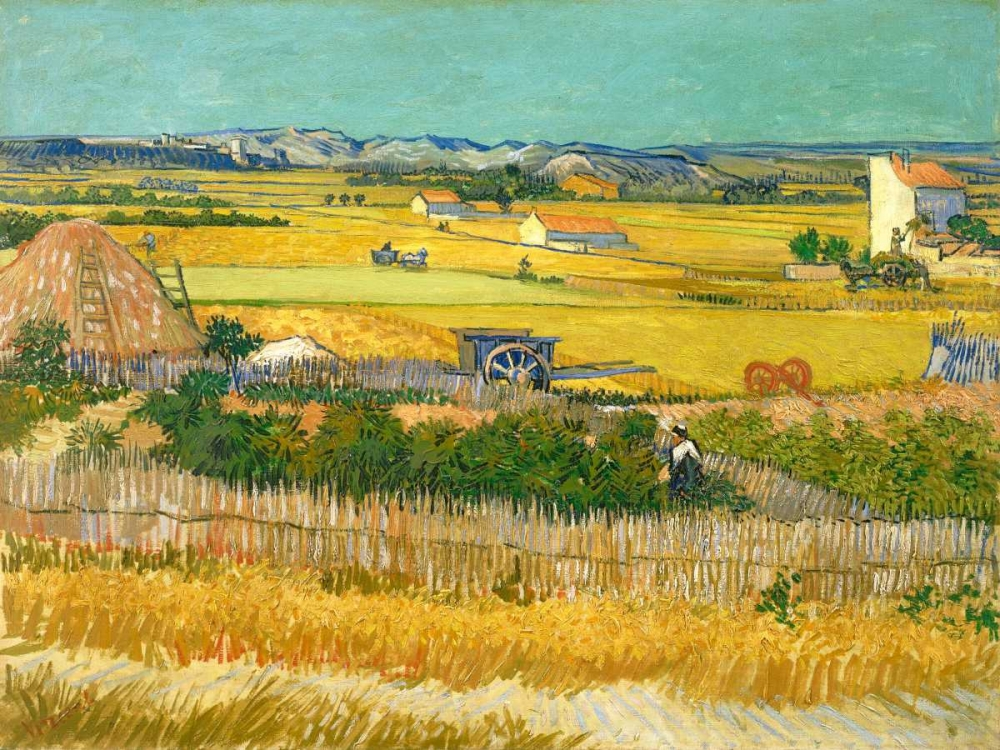 konfigurieren des Kunstdrucks in Wunschgröße De oogst von Van Gogh, Vincent