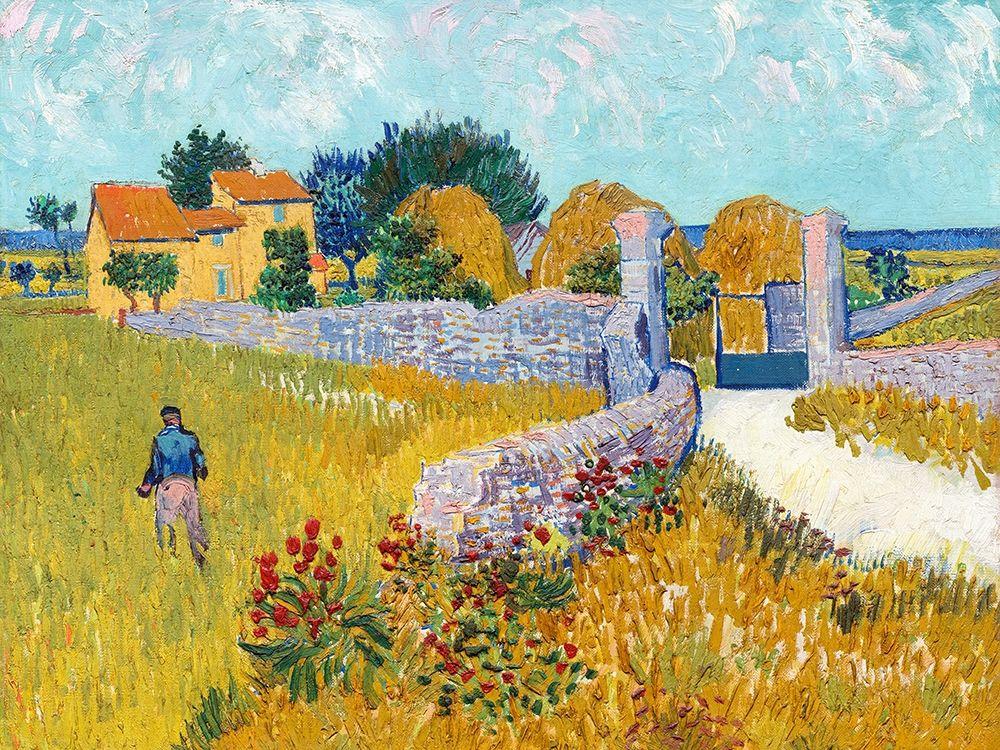 konfigurieren des Kunstdrucks in Wunschgröße Farmhouse in Provence von Van Gogh, Vincent