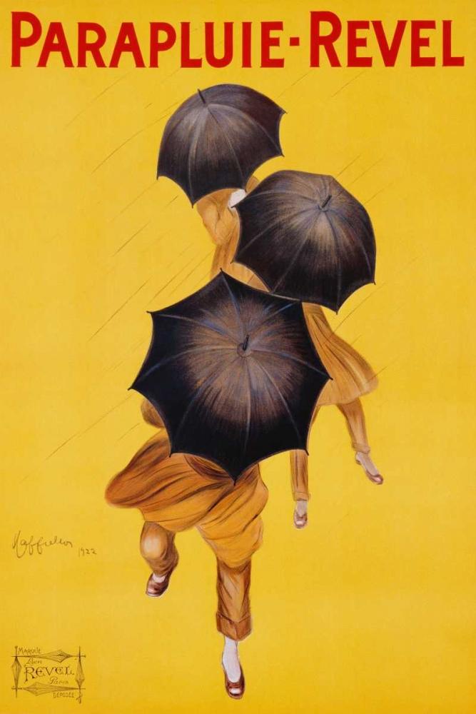 konfigurieren des Kunstdrucks in Wunschgröße Parapluie-Revel 1922 von Cappiello, Leonetto