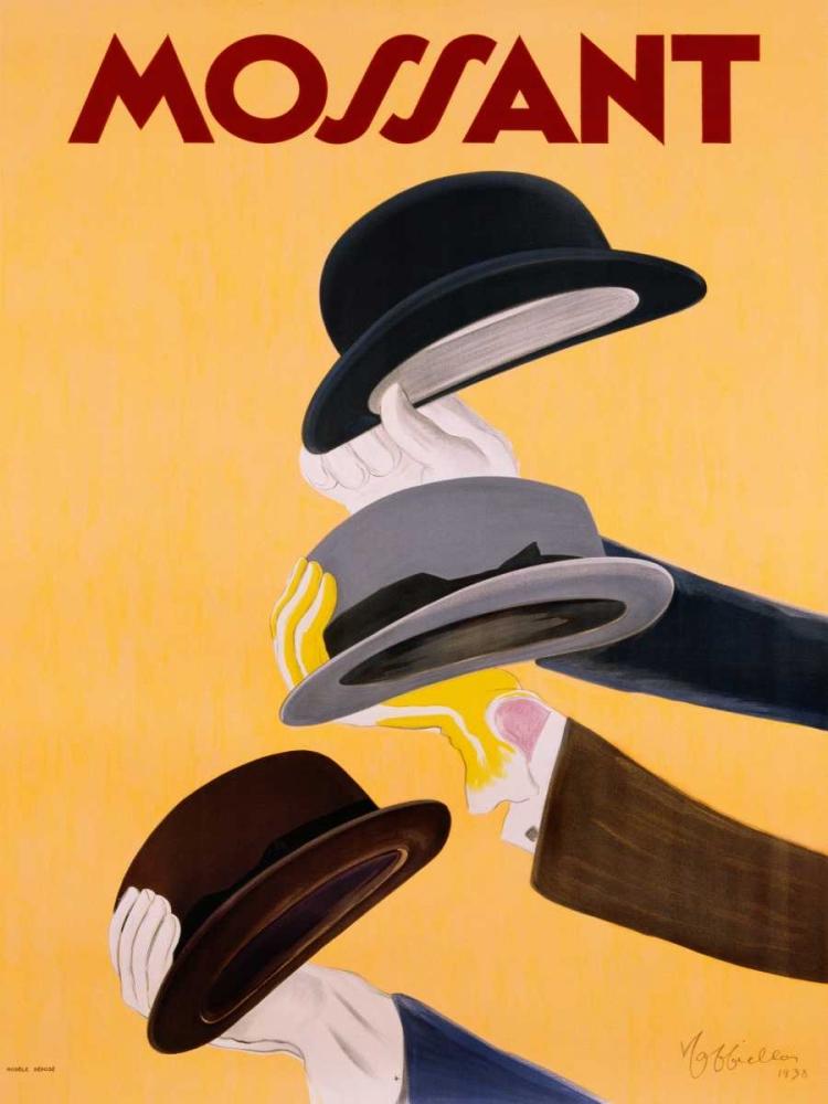 konfigurieren des Kunstdrucks in Wunschgröße Mossant 1938 von Cappiello, Leonetto