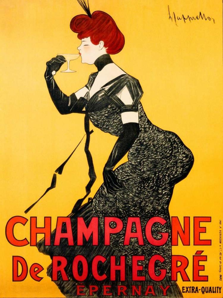 konfigurieren des Kunstdrucks in Wunschgröße Champagne de Rochegre ca. 1902 von Cappiello, Leonetto