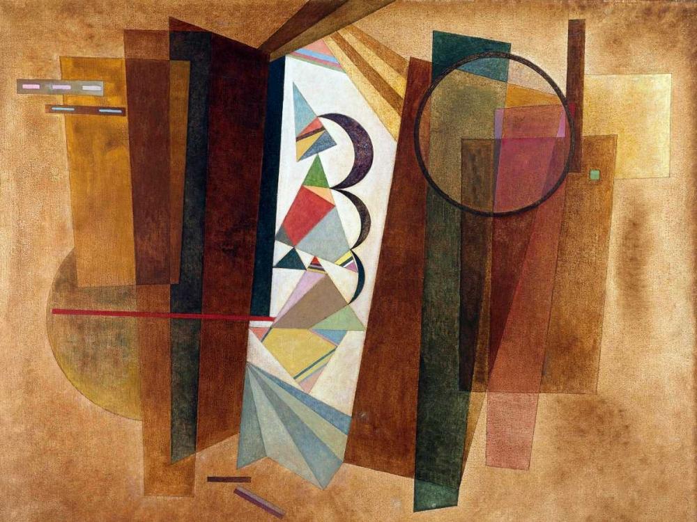 konfigurieren des Kunstdrucks in Wunschgröße Developpement en brun von Kandinsky, Wassily