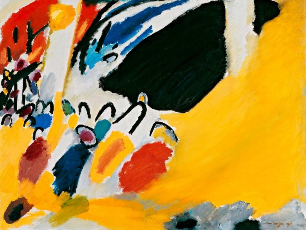 konfigurieren des Kunstdrucks in Wunschgröße Impression III (Concert) von Kandinsky, Wassily
