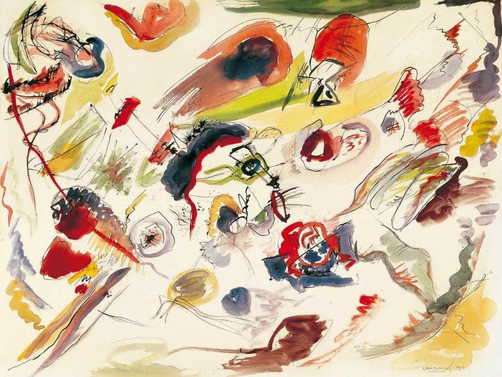 konfigurieren des Kunstdrucks in Wunschgröße Sans titre von Kandinsky, Wassily