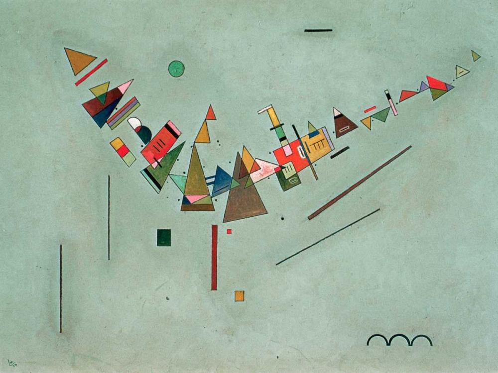 konfigurieren des Kunstdrucks in Wunschgröße Improvisation von Kandinsky, Wassily