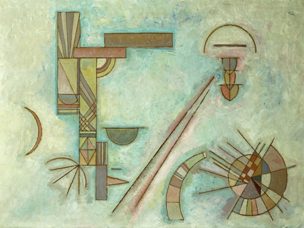 konfigurieren des Kunstdrucks in Wunschgröße Weisslich von Kandinsky, Wassily