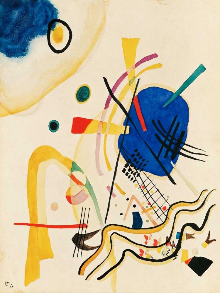 konfigurieren des Kunstdrucks in Wunschgröße Untitled von Kandinsky, Wassily