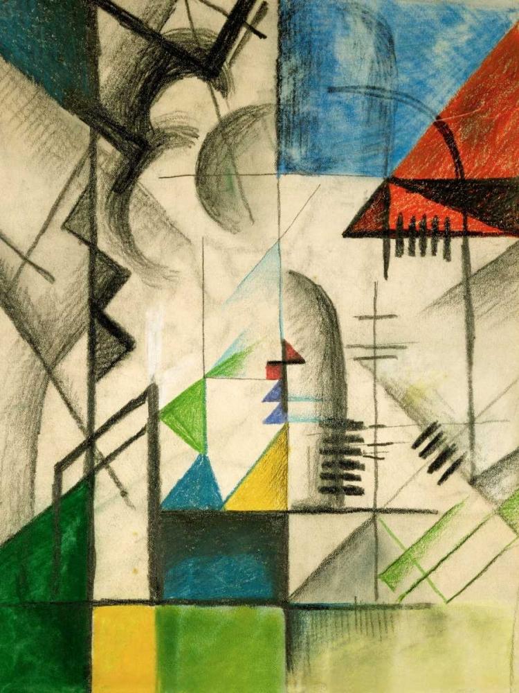 konfigurieren des Kunstdrucks in Wunschgröße Formen von Kandinsky, Wassily