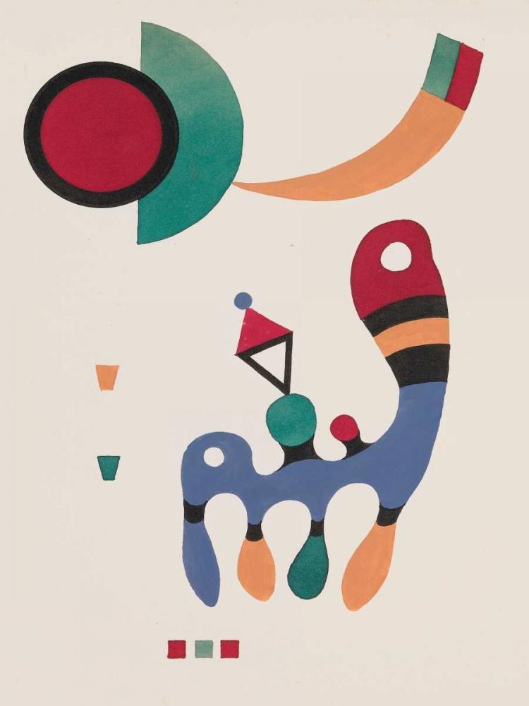konfigurieren des Kunstdrucks in Wunschgröße 11 tableux et 7 poemes von Kandinsky, Wassily