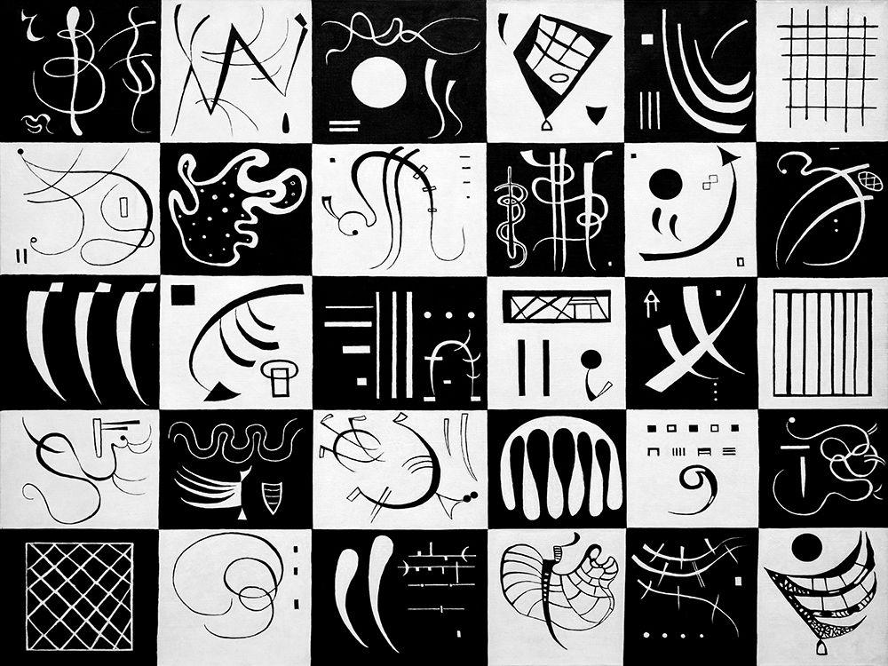 konfigurieren des Kunstdrucks in Wunschgröße Trente von Kandinsky, Wassily