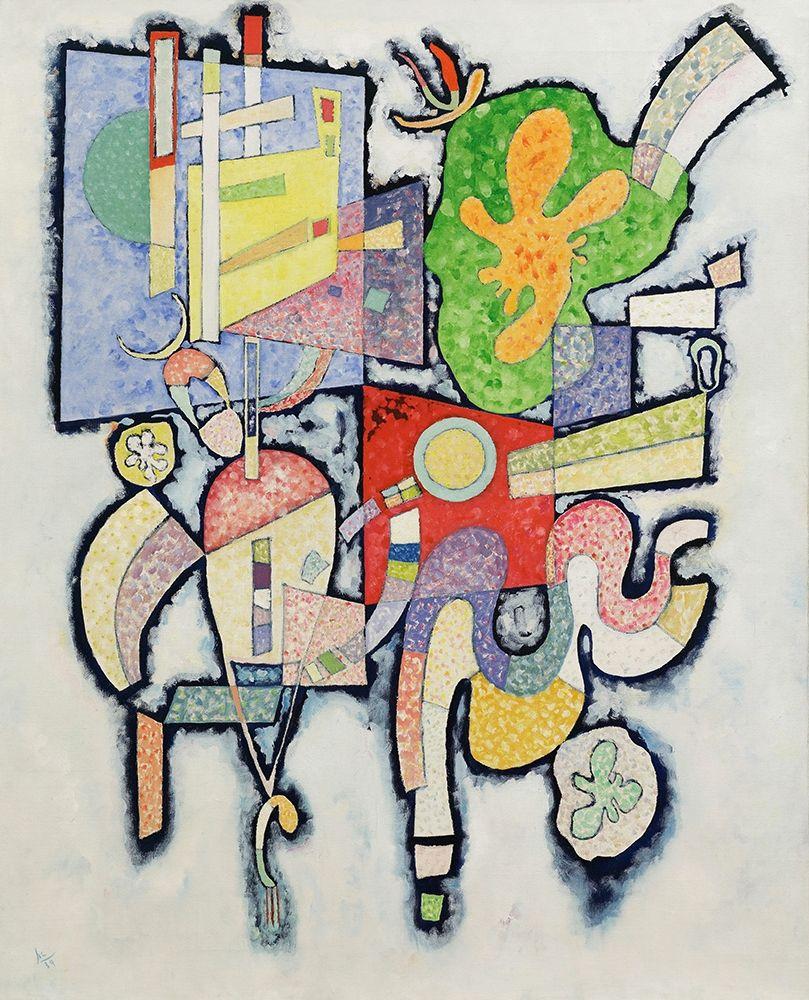 konfigurieren des Kunstdrucks in Wunschgröße Complexite simple von Kandinsky, Wassily