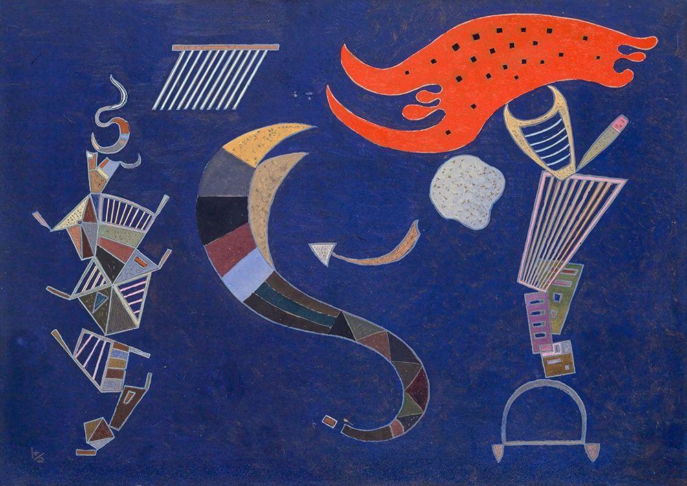konfigurieren des Kunstdrucks in Wunschgröße La_fl├¿che- 1943 (Februar) von Kandinsky, Wassily
