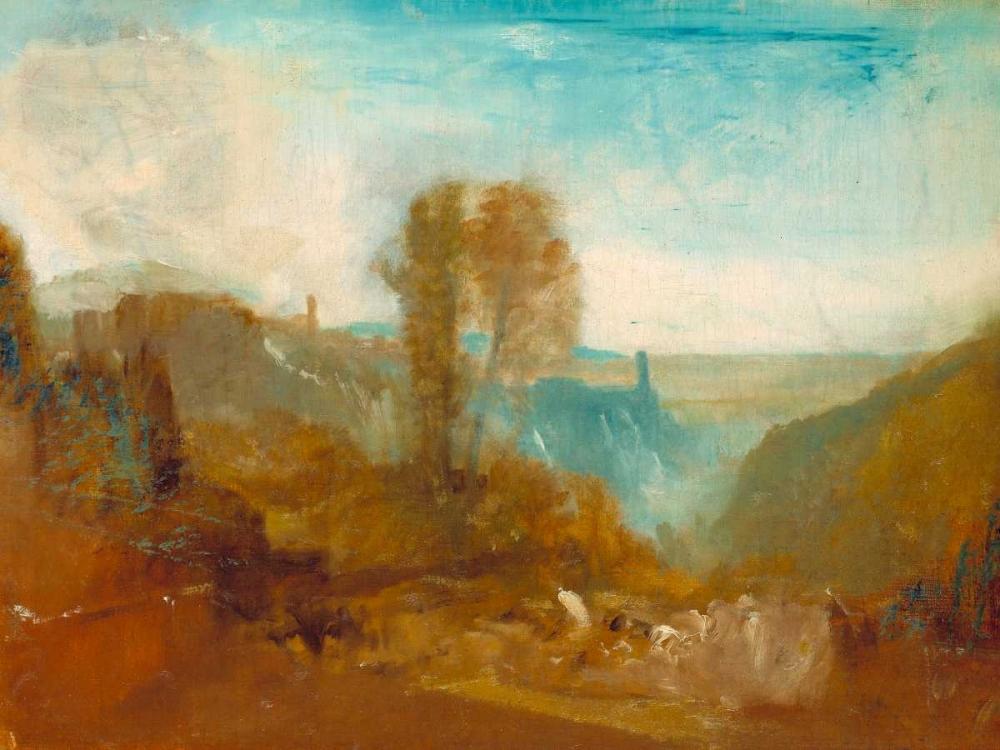 konfigurieren des Kunstdrucks in Wunschgröße Tivoli - the Cascatelle von Turner, William
