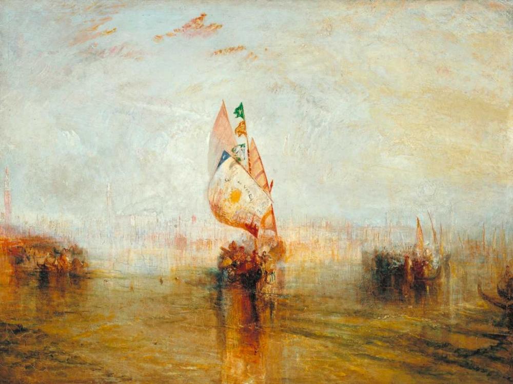 konfigurieren des Kunstdrucks in Wunschgröße The Sun of Venice going to Sea von Turner, William
