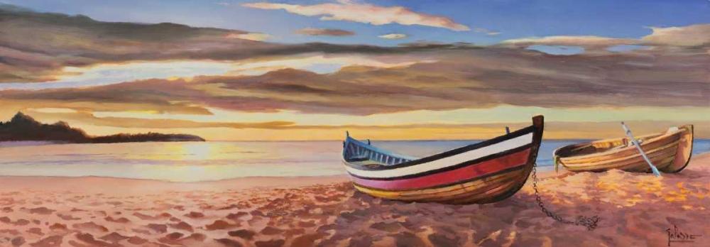 Alba sulla spiaggia von Galasso, Adriano <br> max. 229 x 79cm <br> Preis: ab 10€