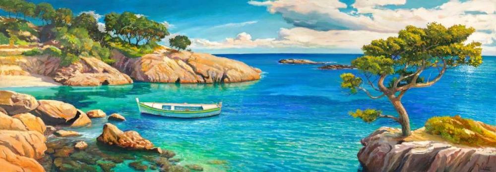 Verde Mediterraneo von Galasso, Adriano <br> max. 229 x 79cm <br> Preis: ab 10€
