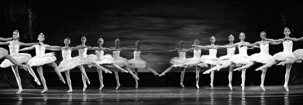 konfigurieren des Kunstdrucks in Wunschgröße Swan Lake ballet von Anonymous