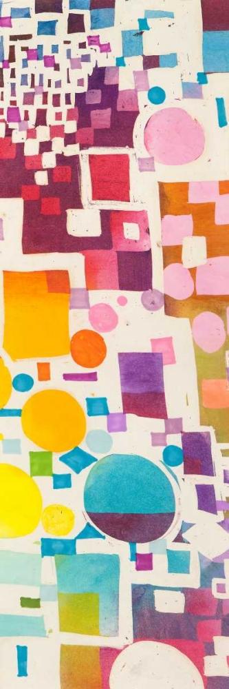 konfigurieren des Kunstdrucks in Wunschgröße Multicolor Pattern III von Bacci, Leonardo