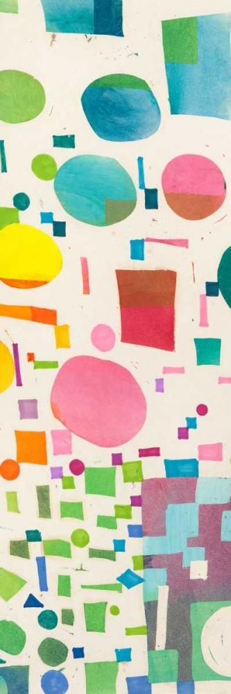 konfigurieren des Kunstdrucks in Wunschgröße Multicolor Pattern IV von Bacci, Leonardo