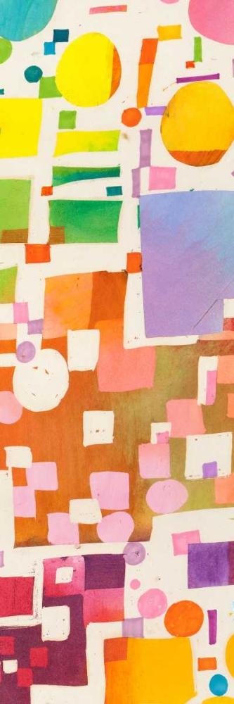 konfigurieren des Kunstdrucks in Wunschgröße Multicolor Pattern V von Bacci, Leonardo