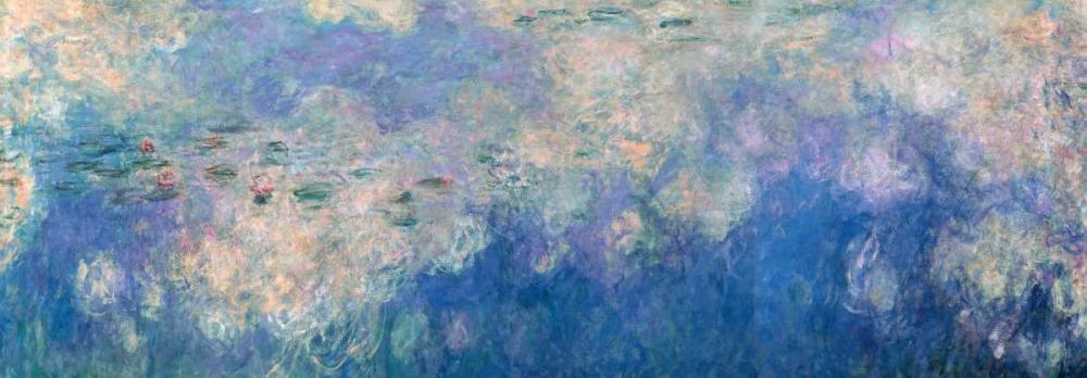 konfigurieren des Kunstdrucks in Wunschgröße Waterlilies- The Clouds von Monet, Claude